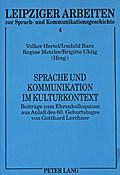 Sprache und Kommunikation im Kulturkontext