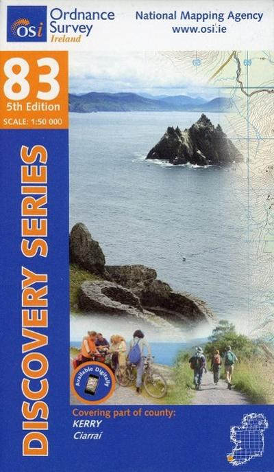 Irish Discovery Series 83. Kerry 1 : 50 000