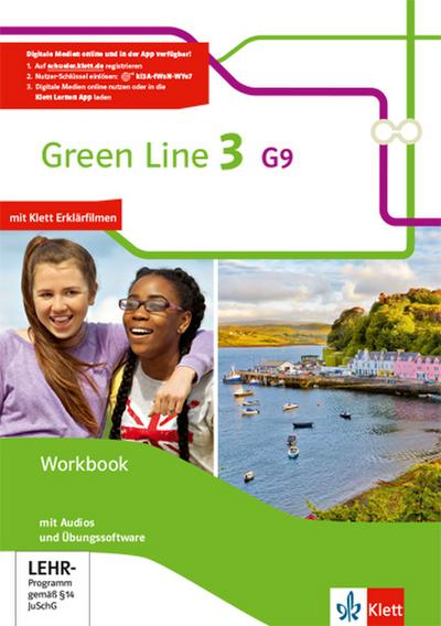 Green Line 3 G9. Workbook mit Audio-CD und Übungssoftware