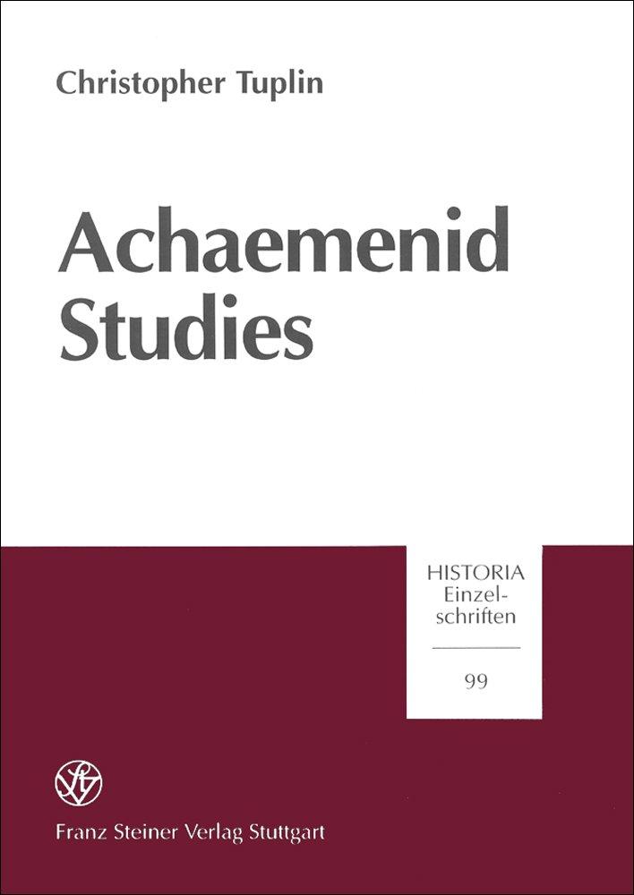 Achaemenid Studies - Christopher Tuplin -  9783515069014