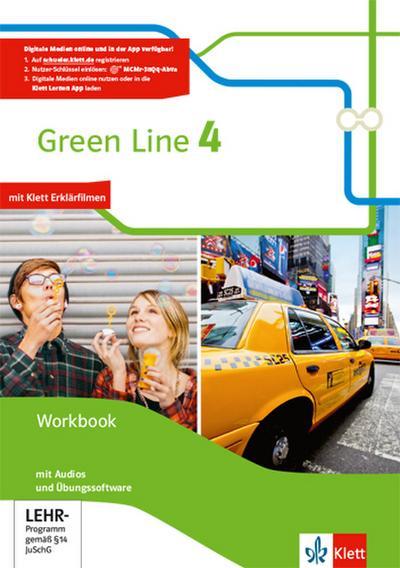 Green Line 4. Workbook mit Audio-CD und Übungssoftware Klasse 8
