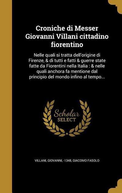 ITA-CRONICHE DI MESSER GIOVANN