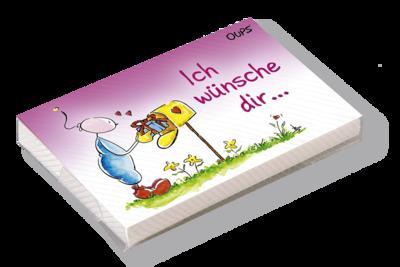 """Oups Kärtchenbox - """"Ich wünsche Dir ..."""""""