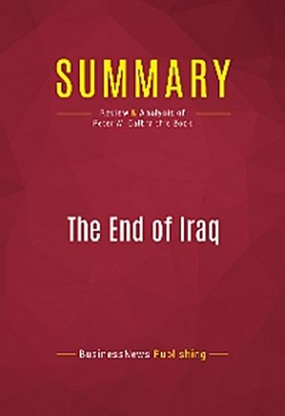 Summary: The End of Iraq