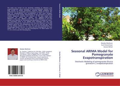 Seasonal ARIMA Model for Pomegranate Evapotranspiration