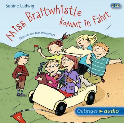 Miss Braitwhistle kommt in Fahrt (2 CD)