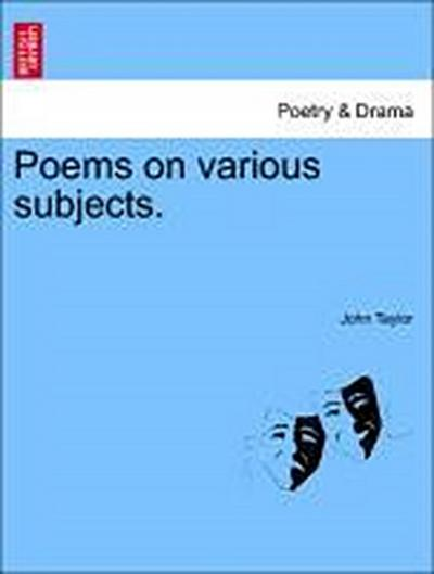 Poems on various subjects. Vol. II