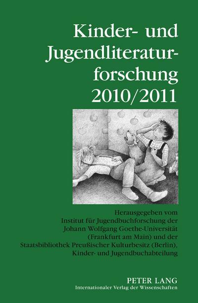 Kinder- und Jugendliteraturforschung 2010/2011