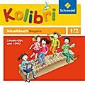 Kolibri: Das Musikbuch 1 / 2. Hörbeispiele und Tanz-DVD. Grundschule. Bayern