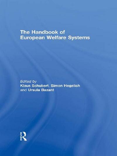 The Handbook of European Welfare Systems