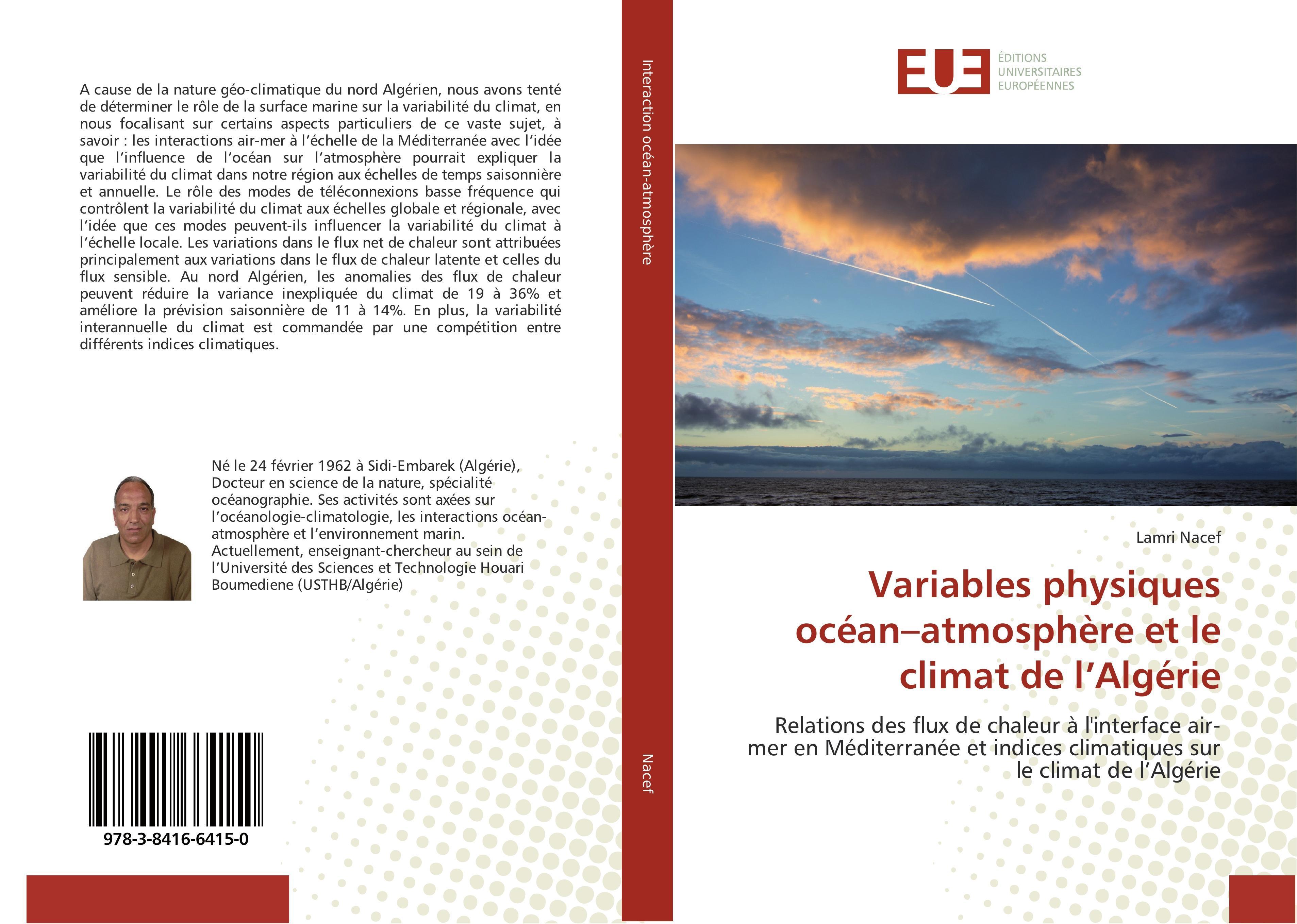 Variables physiques océan-atmosphère et le climat de l'Algér ... 9783841664150