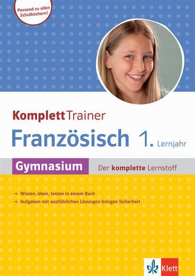 KomplettTrainer Gymnasium Französisch 1. Lernjahr