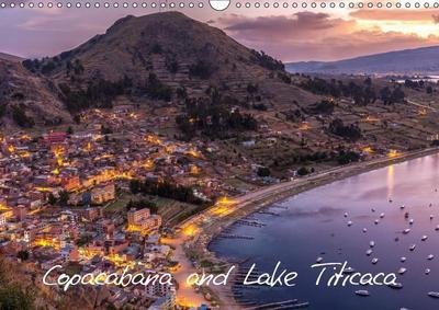 Copacabana and Lake Titicaca (Wall Calendar 2019 DIN A3 Landscape)