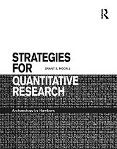 Strategies for Quantitative Research