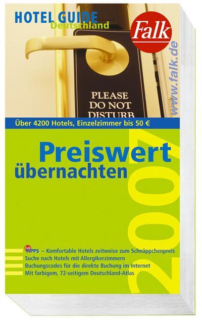 Falk Hotel Guide Deutschland 2007