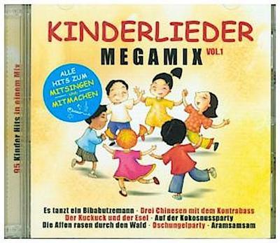 Kinderlieder Megamix Vol. 1. Alle Hits zum Mitsingen
