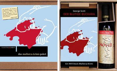 Das Mallorca-Krimi-Paket: Der blutige Buchara. Ein Will-Stock-Mallorca-Krimi - Lardon Media AG - , Deutsch, George Scott, 'Der blutige Buchara' - Mit einer Flasche Rotwein aus Mallorca, 0,375 L, 'Der blutige Buchara' - Mit einer Flasche Rotwein aus Mallorca, 0,375 L