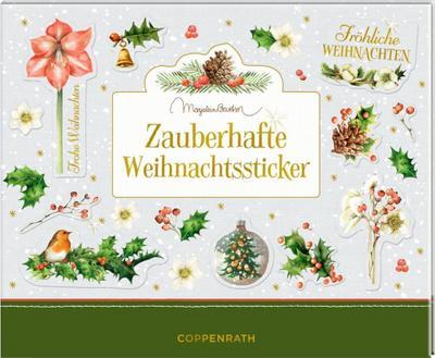 Stickerbuch - Zauberhafte Weihnachtssticker (Marjolein Bastin)