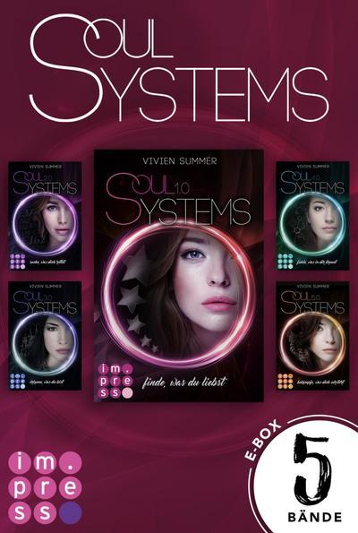SoulSystems: Alle fünf Bände der Rebellen-Serie in einer E-Box!