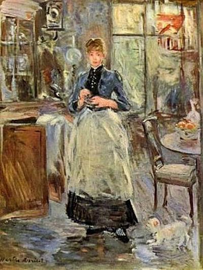 Berthe Morisot - Im Dining Room - 200 Teile (Puzzle)