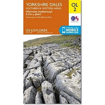 Yorkshire Dales - Southern & Western areas 1:25 000
