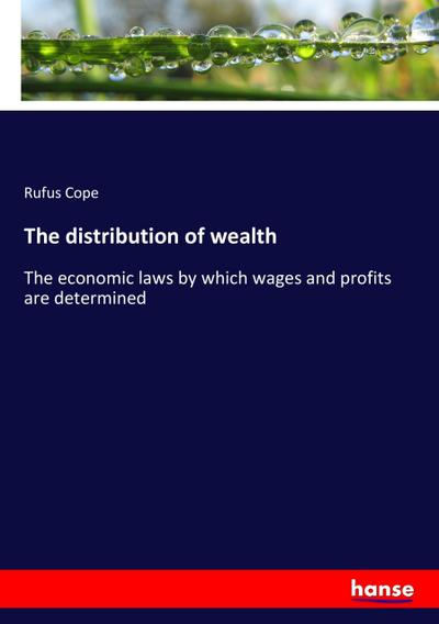 The distribution of wealth