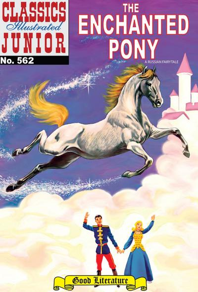 The Enchanted Pony (with panel zoom) - Classics Illustrated Junior