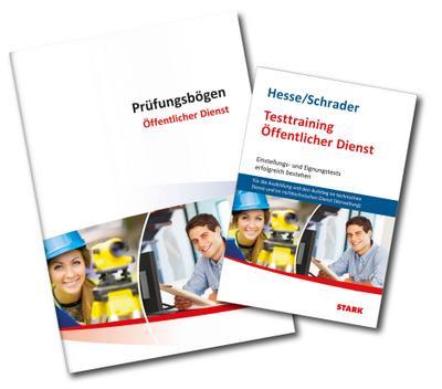 Vorteilspaket Beruf & Karriere - Hesse/Schrader: Testtraining Öffent- licher Dienst (Nichttechnischer Dienst)
