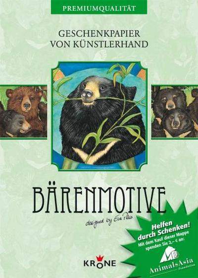 Geschenkpapier: Bären