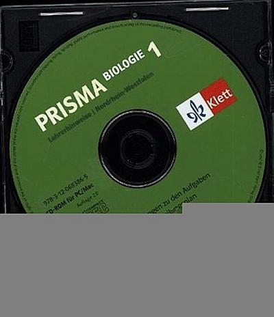 Prisma Biologie, Ausgabe Nordrhein-Westfalen, Neubearbeitung 5./6. Schuljahr, Lehrerhinweise auf CD-ROM