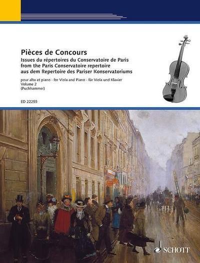 Pièces de Concours. Viola und Klavier