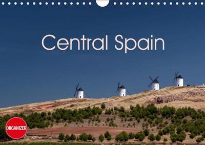 Central Spain (Wall Calendar 2019 DIN A4 Landscape)