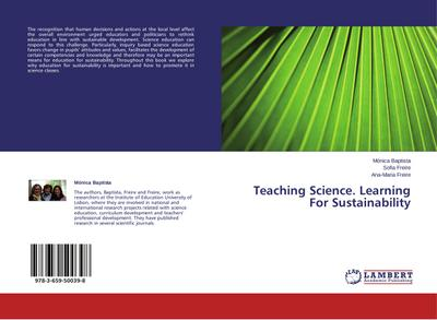 Teaching Science. Learning For Sustainability