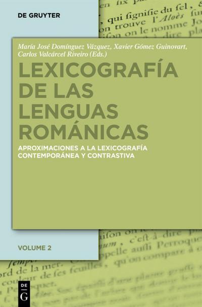 Lexicografia de las lenguas romanicas