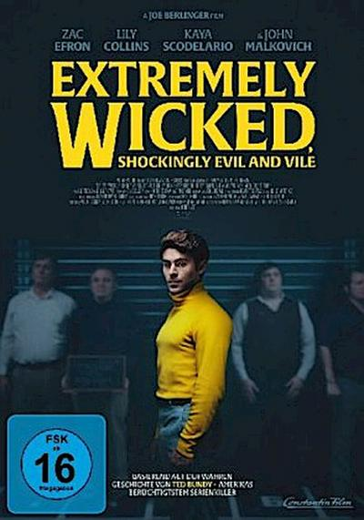 Extremely Wicked, Shockingly Evil and Vile, 1 DVD