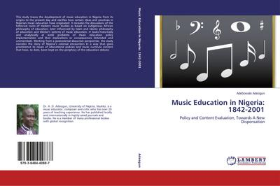Music Education in Nigeria: 1842-2001