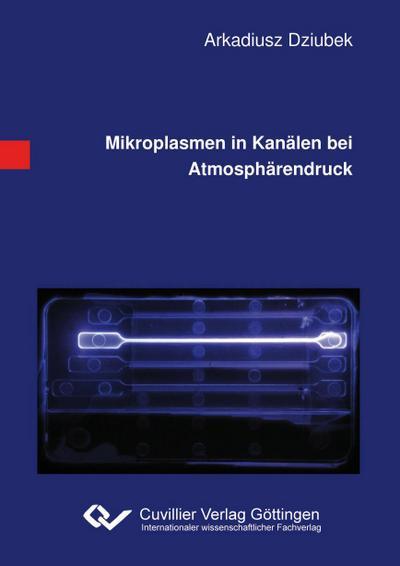 Mikroplasmen in Kanälen bei Atmosphärendruck