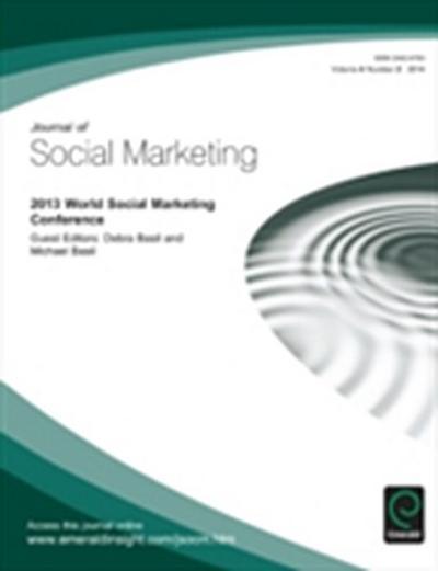 2013 World Social Marketing Conference