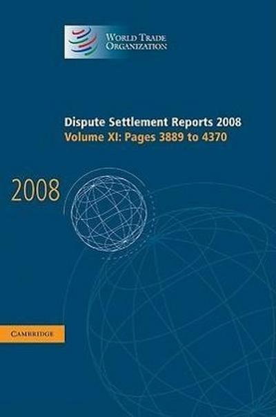 Dispute Settlement Reports 2008: Volume 11, Pages 3889-4370