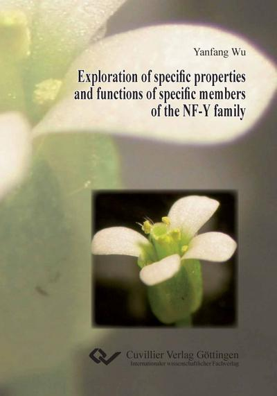Exploration of specific properties and functions of specific members of the NF-Y family