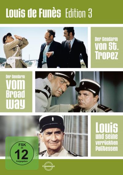 Louis de Funès Edition 3 [3 DVDs]