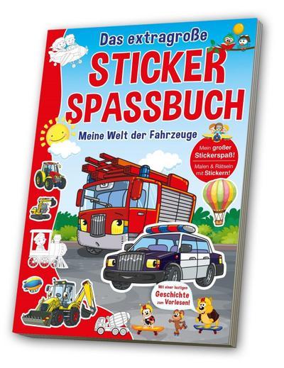 Stickerspaßbuch Fahrzeuge