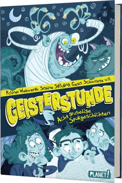 Geisterstunde; Acht gruselige Spukgeschichten; Ill. v. Beck, Benedikt; Deutsch; mit schwarz-weißen Illustrationen