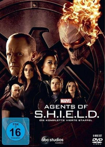 Marvel's Agents Of S.H.I.E.L.D.. Staffel.4, 6 DVD