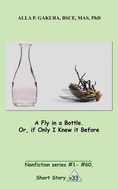 A Fly in a Bottle. Or, if Only I Knew it Before.