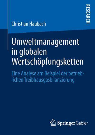 Umweltmanagement in globalen Wertschöpfungsketten