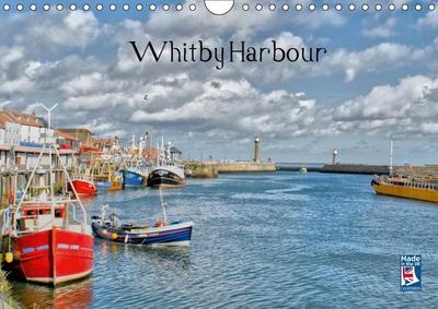 Whitby Harbour (Wall Calendar 2019 DIN A4 Landscape)