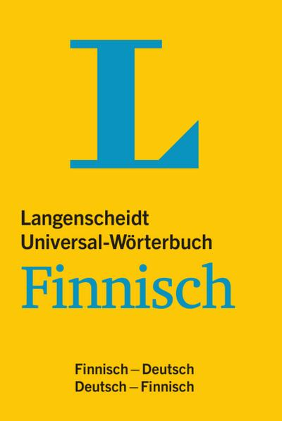 Langenscheidt Universal-Wörterbuch Finnisch - mit Kurzgrammatik des Finnischen