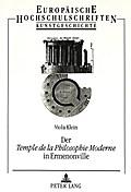Der Temple de la Philosophie Moderne in Ermenonville