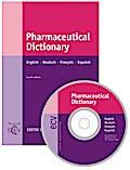 Pharmaceutical Dictionary, English-Deutsch-Francais-Espanol, m. CD-ROM